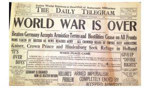 Tentoonstelling Einde van de Eerste Wereldoorlog @ Openbare bibliotheek Enschede | Enschede | Overijssel | Nederland