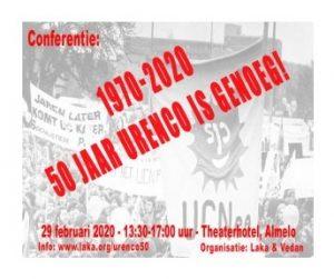 50 jaar Urenco is genoeg! @ v.d. Valk Theaterhotel Almelo