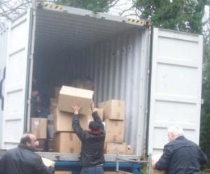 2de container naar Syrië