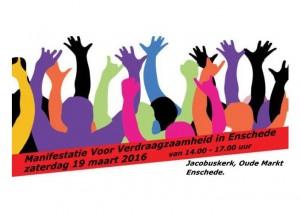 manifestatie 19 maart 16