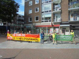 Wake :  VOOR VREDE, STOP DE OORLOG STOP DE GEWELDSPIRAAL @ van Loenshof | Enschede | Overijssel | Nederland